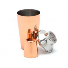 Cocktail Shaker Copper 2