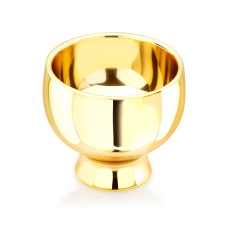 Gold plated serveware crafted for good looks and elegance