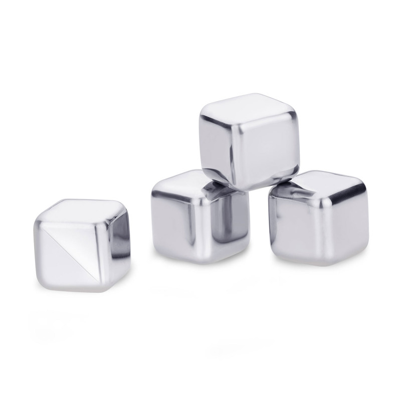 High quality stainless steel ice cubes, barware accessories