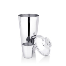 Cocktail shaker-steel top-barware