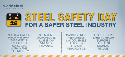 Steel Safety Day - For a safer steel industry