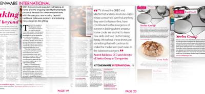 Seeba - 7 piece bakeware set - Kitchenware International Magazine