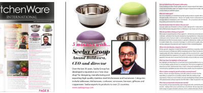 Seeba Group of Companies - Kitchenware International Magazine