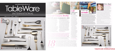 Tableware Magazine - High quality stainless steel flatware