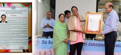 AGM - AISSIA Udyog Ratna award